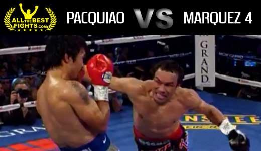 Manny pacquiao vs juan manuel marquez 4 fight video pelea 2012