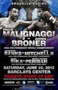 banks-vs-mitchell-2-fight-video-2013-poster