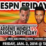 mendez-vs-barthelemy-fight-video-pelea-2014-poster