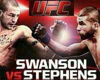 swanson-vs-stephens-ufc-ufn-44-poster