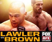 lawler-vs-brown-ufc-on-fox-12-poster