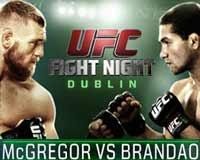 Conor McGregor vs Brandao - fu...