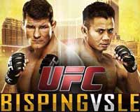bisping-vs-le-ufc-fn-48-poster