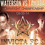waterson-vs-tamada-invicta-fc-8-poster