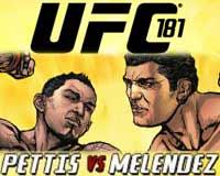 pettis-vs-melendez-ufc-181-poster