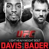 davis-vs-bader-ufc-on-fox-14-poster