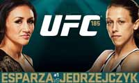esparza-vs-jedrzejczyk-full-fight-video-ufc-185-poster