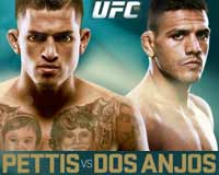 pettis-vs-dos-anjos-full-fight-video-ufc-185-poster