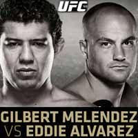 melendez-vs-alvarez-full-fight-video-ufc-188-poster