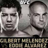 melendez-vs-alvarez-full-fight-video-ufc-188-poster
