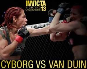 cyborg-vs-van-duin-invicta-fc-13-poster