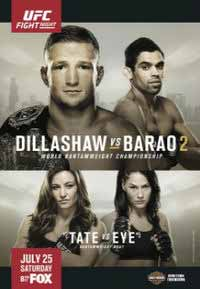 ufc-on-fox-16-poster-dillashaw-vs-barao-poster
