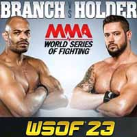 branch-vs-holder-wsof-23-poster