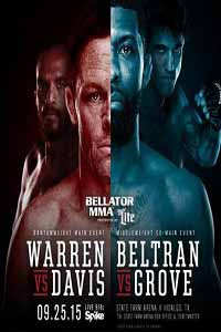 warren-vs-davis-bellator-143-poster