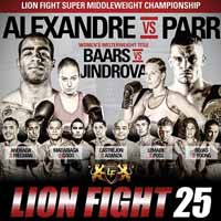 parr-vs-alexandre-3-lion-fight-25-poster