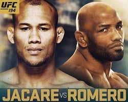 jacare-vs-romero-full-fight-video-ufc-194-poster