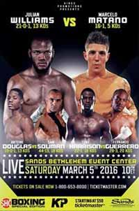 williams-vs-matano-poster-2016-03-05
