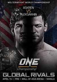 askren-vs-aleksakhin-one-fc-40-poster