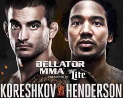 henderson-vs-koreshkov-bellator-153-poster