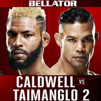 caldwell-vs-taimanglo-2-bellator-167-poster