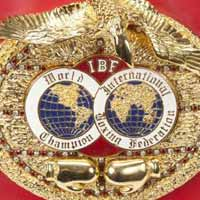 ibf-world-title-belt