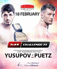 yusupov-vs-puetz-full-fight-video-m1-challenge-74-poster