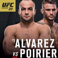 alvarez-vs-poirier-full-fight-video-ufc-211-poster