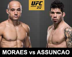 moraes-vs-assuncao-full-fight-video-ufc-212-poster