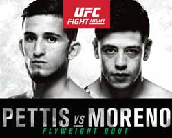 pettis-vs-moreno-full-fight-video-ufc-fn-114-poster