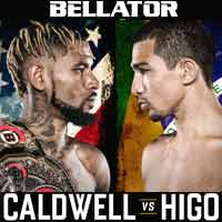 caldwell-higo-fight-bellator-195-poster