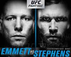 emmett-stephens-fight-ufc-on-fox-28-poster