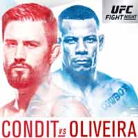 condit-oliveira-fight-ufc-on-fox-29-poster