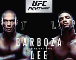 kevin-lee-barboza-fight-ufc-fight-night-128-poster