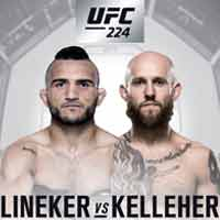lineker-kelleher-fight-ufc-224-poster