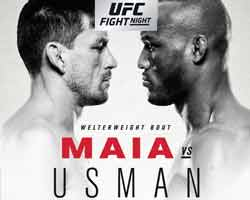 maia-usman-fight-ufc-fn-129-poster