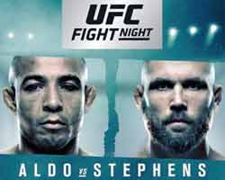 aldo-stephens-fight-ufc-on-fox-30-poster