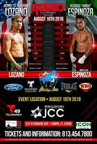 Daniel Lozano fight videos, Ricardo Espinoza Franco fight videos,