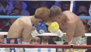 Photo of the fight Sho Kimura vs Kosei Tanaka