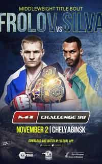 frolov-silva-fight-m-1-challenge-98-poster