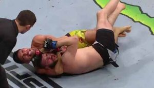 Photo of the fight Vicente Luque vs Bryan Barberena