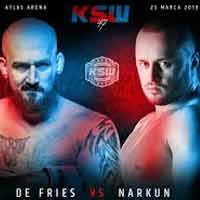 narkun-vs-de-fries-fight-ksw-47-poster