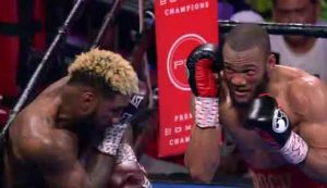 Photo of the fight Jarrett Hurd vs Julian Williams