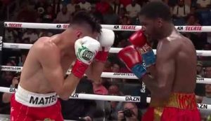 Photo of the fight Maurice Hooker vs Jose Ramirez