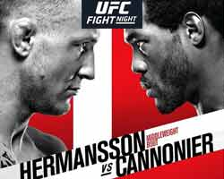 hermansson-cannonier-fight-ufc-fight-night-160-poster