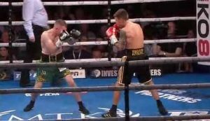 Photo of the fight Jay Harris vs Paddy Barnes