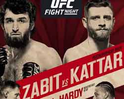zabit-vs-kattar-fight-ufc-fight-night-163-poster