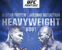 Alistair Overeem Vs Rozenstruik Full Fight Video Hl Ufc On