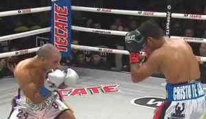Photo of the fight Khalid Yafai vs Roman Gonzalez