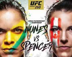 nunes-spencer-fight-ufc-250-poster