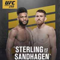 sterling-sandhagen-fight-ufc-250-poster